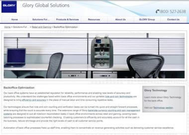 049391a42c6e Castorama has selected Glory Global Solutions